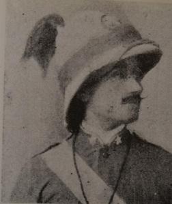 Antonino Di Giorgio, giovane tenente ad Adua (1896)