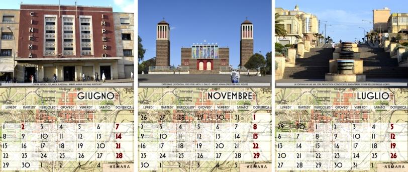 Asmara Calendario 2020