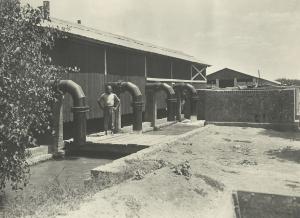 Impianto idrovoro della SAIS
