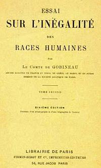 Gobineau_Inegalite de races humaines