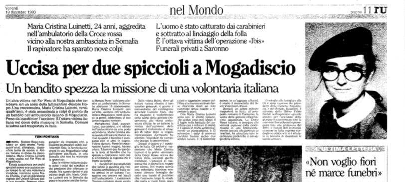 Maria Cristina Luinetti_giornale