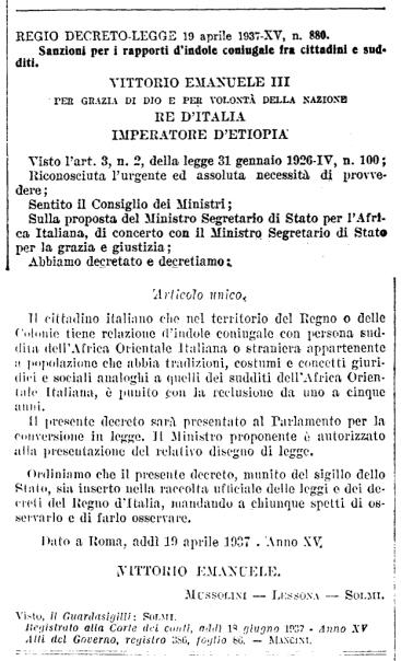 Testo RDL 19 aprile 1937, n.800 - GU.145_24 giungo 1937 - pagg.2350-2351