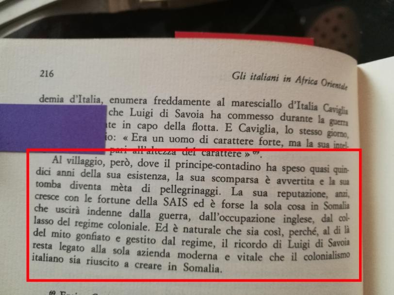 Del Boca parla del Duca degli Abruzzi