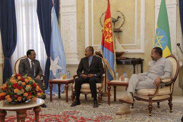 Corno Africa/ Vertice ad Asmara dei leader di Eritrea, Etiopia e Somalia