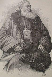 Monsignor Favier nel 1900