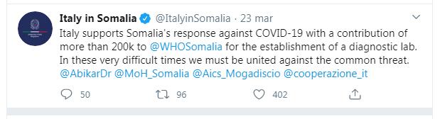 Italy in Somalia_Covid-19