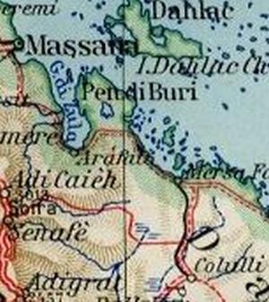 2 - Il percorso della ferrovia (Mappa dell'epoca)