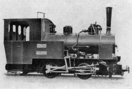4 - Locomotiva della Fossano-Mondovì dello stesso tipo quella impiegata sulla linea di Dallol (Da G.Gatti Le ferrovie coloniali italiane)