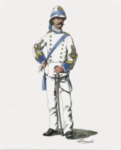 Capitano di Stato Maggiore a Massaua nel 1885 (Carlo Riccardi)