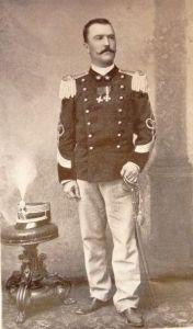 Il colonnello Vincenzo Garioni, comandante del Corpo di spedizione italiano in Cina