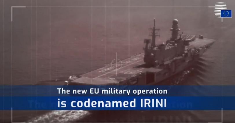 Libia_Operazione IRINI