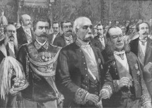 Crispi ed i suoi ministri al Quirinale (1888)