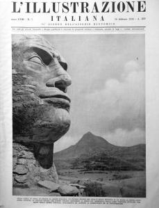 L'Illustrazione Italiana_16 febbraio 1936_ Testa Duce Adua
