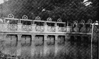 Sbarramento sul canale principale e primo secondario