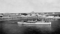45-Rodi. Vista della sistemazione urbanistica della Punta, era un arenile con cimiteri