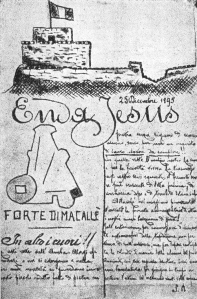 Enda Jesus_Giornale_Forte Macallè_1896