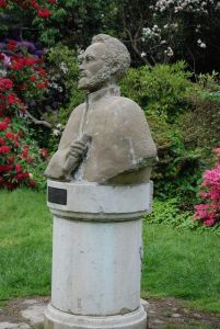 Statua Selassie_Cannizaro Park_Wimbledon