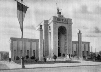 scan (1) Ingresso della Fiera di Tripoli